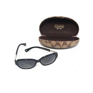 COACH Womens Polarized Annette Sunglasses w/ Case